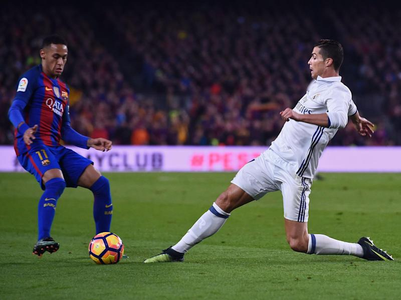 The two global stars are at risk of missing El Clasico: Getty