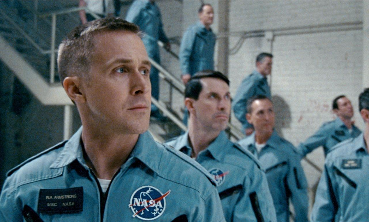 "<p>Director Damien Chazelle's film, <em>First Man</em>, starring Ryan Gosling as Neil Armstrong and Claire Foy as Janet Armstrong, is gearing up to win big at the 2019 <a href=""https://www.redbookmag.com/life/g25230212/things-you-didnt-know-about-the-golden-globes/"" target=""_blank"">Golden Globes</a>, and it's not hard to see why. The movie is a biopic about Armstrong's life as an astronaut and his personal life at home, and critics are already raving about Gosling's depiction of him. Putting together a movie based on such a tremendous event wasn't easy, and a lot went into making it. Here's a look at some of the behind-the-scenes info about <em>First Man</em>: </p>"