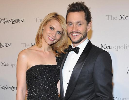 "Claire Danes and Hugh Dancy are expecting their first child, her rep confirmed to People magazine. Danes, 33, star of ""Homeland,"" wed ""Hannibal"" star Dancy, 37, in a private ceremony in France in 2009."