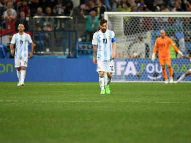 FIFA World Cup 2018: Argentina's media cry 'catastrophe' after team's humiliating loss to Croatia