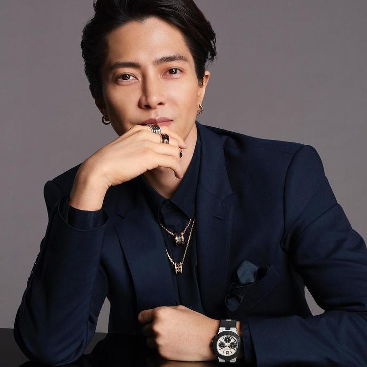 Tomohisa Yamashita appointed as Bulgari's ambassador (Photo: Instagram/tomo.y9)