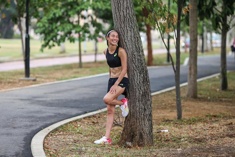 Singapore #Fitspo of the Week: Serena Teoh. (PHOTO: Cheryl Tay)