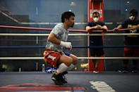 Pacquiao is deeply admired in the Philippines for his generosity and hauling himself out of poverty to become one of the world's greatest and wealthiest boxers
