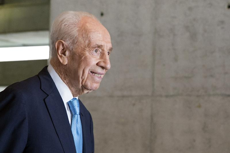 In a career spanning seven decades, Shimon Peres held nearly every major office in Israel, serving twice as prime minister and as president from 2007 to 2014 (AFP Photo/Jack Guez)