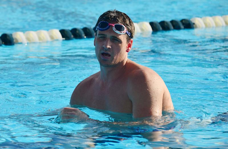 Remember Ryan Lochte? The swimmer could be ready for a comeback. (Photo by Johnny Louis/GettyImages)