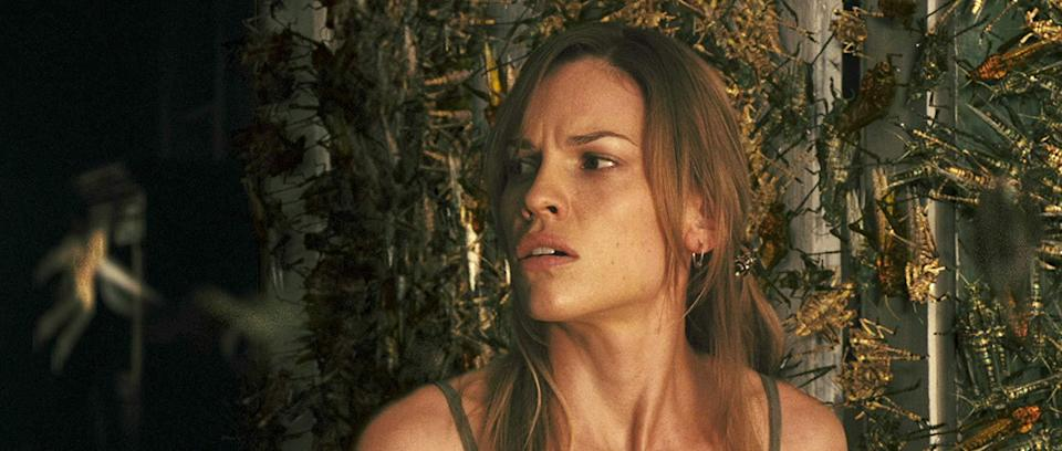 Hilary Swank in The Reaping (credit: Warner Brothers)