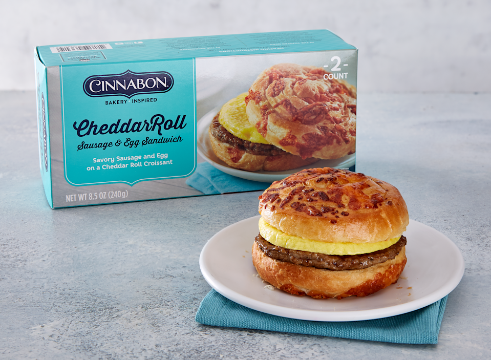 The Cinnabon Frozen Breakfast Creations line launched in September of 2020. (Courtesy: Cinnabon)