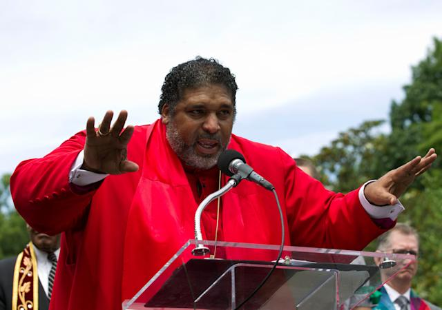 Rev. William J. Barber is the co-chair of the Poor People's Campaign: A National Call for Moral Revival, which draws inspiration from Rev. Martin Luther King Jr.'s 1968 Poor People's Campaign. (Photo: AP Photo/Jose Luis Magana, File)