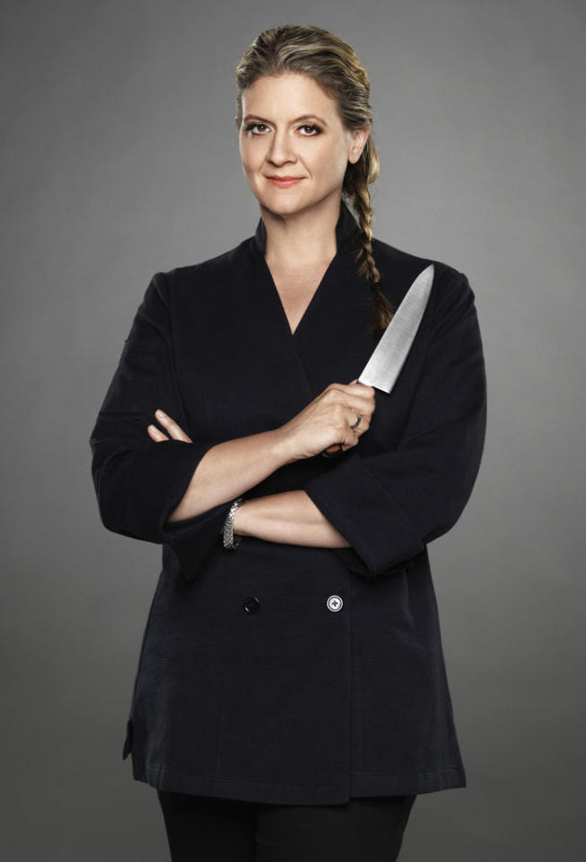 "Chef Amanda Freitag is competing on the new season of ""The Next Iron Chef,"" premiering Sunday, 11/4 at 9 PM on Food Network."