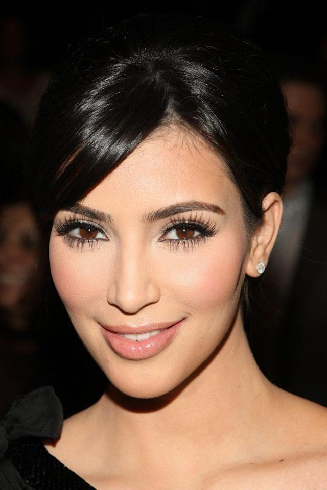 Kardashian admittedly wore more makeup earlier in her career, like in this 2009 image. (Photo: Getty Images)