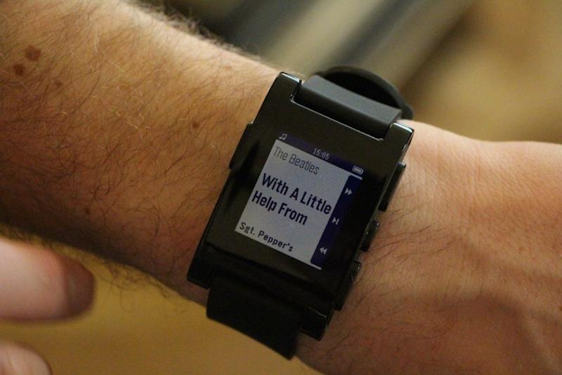 Hands On With Pebble, the Internet's Favorite Smart Watch