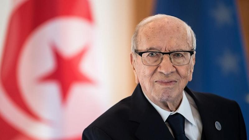 Tunisia's Essebsi, world's oldest president, dies at 92
