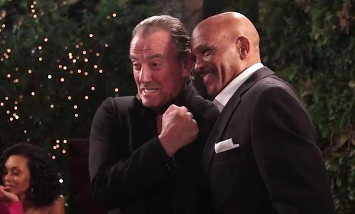 """<p>In 2018, Cowboys legend Drew Pearson snagged a little role on <em>The Young and The Restless</em>. He told <a href=""""https://www.cbssports.com/nfl/news/cowboys-legend-drew-pearson-fulfills-dream-with-cameo-on-the-young-and-the-restless/"""" rel=""""nofollow noopener"""" target=""""_blank"""" data-ylk=""""slk:CBS"""" class=""""link rapid-noclick-resp"""">CBS</a>, """"The part they had me playing was a security guard, working for Victor Newman, which is perfect, because he's my hero. He's the real person I gravitated toward back in the day when I first started watching <em>Young and the Restless...</em>I was so blessed and honored that they included me."""" </p>"""