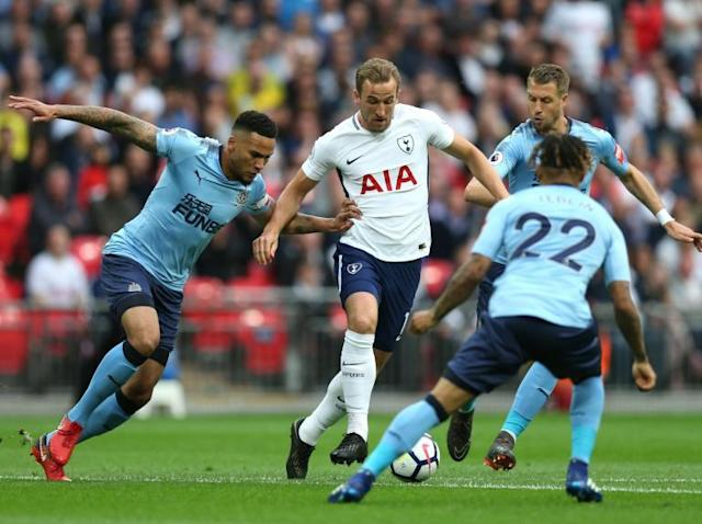 Tottenham Hotspur vs Newcastle United LIVE: Latest goal updates and coverage from Wembley Stadium