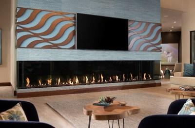 Bringing an immersive home entertainment experience to TNAH and TNAR, the homes feature more than a dozen 4K UHD TVs from LG Electronics, selected by the NAHB and the home de-signers as exclusive consumer electronics partner.