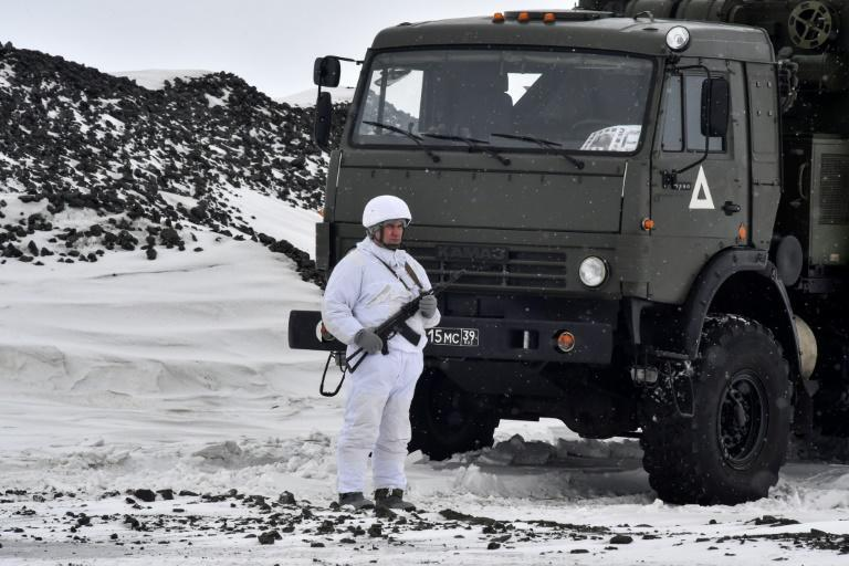 Russia's 'Arctic Trefoil', its northernmost military base, is built on the ruins of an old Soviet site