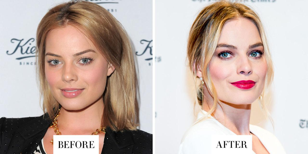 <p>Eyebrows make all the difference.</p>