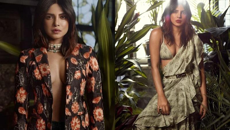 Priyanka Chopra Brings Her Desi Girl Game For The Photoshoot Of InStyle Magazine And It Is Dripping With Panache! View Pics