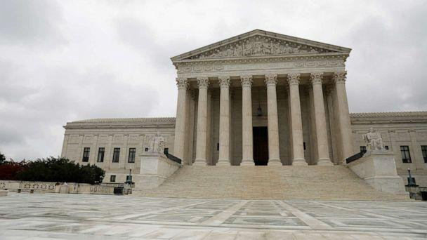 PHOTO: In this Aug. 29, 2020, file photo, the Supreme Court of the United States is seen in Washington, D.C. (Andrew Kelly/Reuters, FILE)