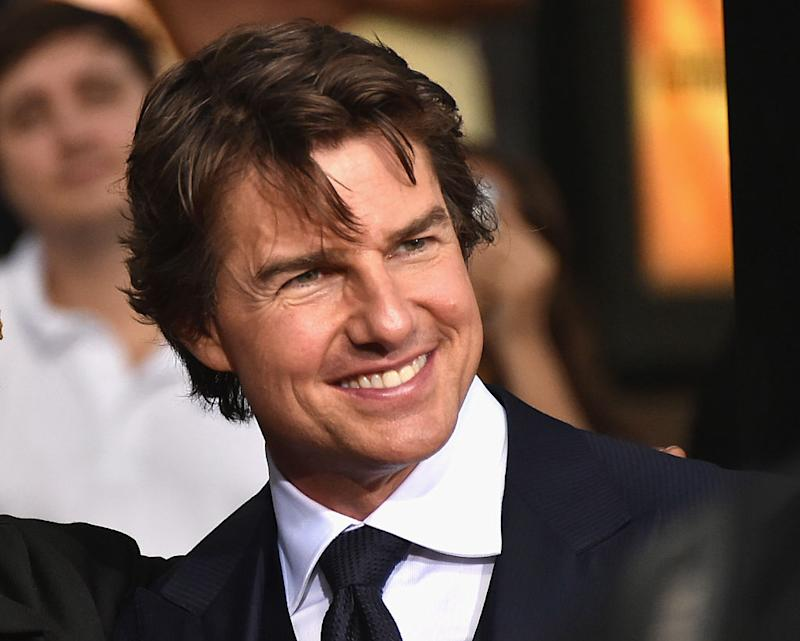 """Tom Cruise is open to a """"Top Gun"""" sequel and he definitely has our attention"""