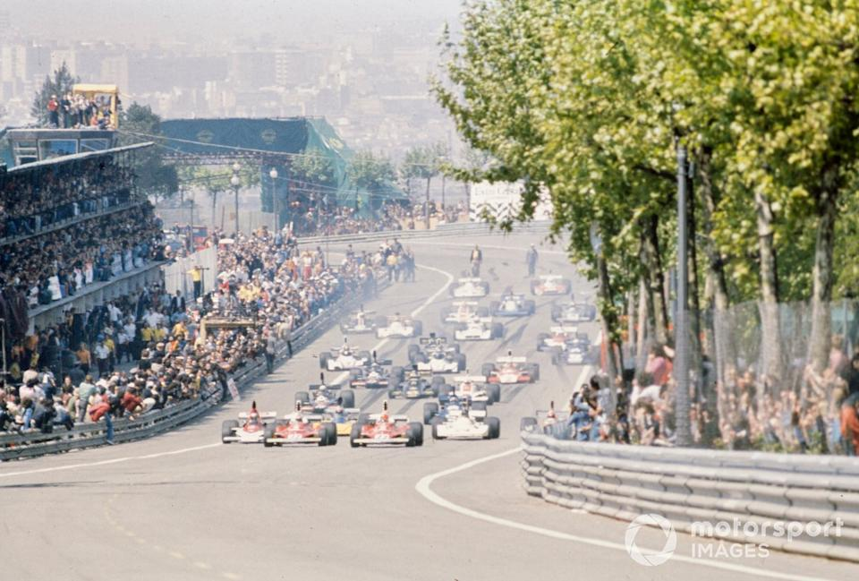 "The start of the ill-fated 1975 Spanish Grand Prix<span class=""copyright"">Motorsport.com</span>"