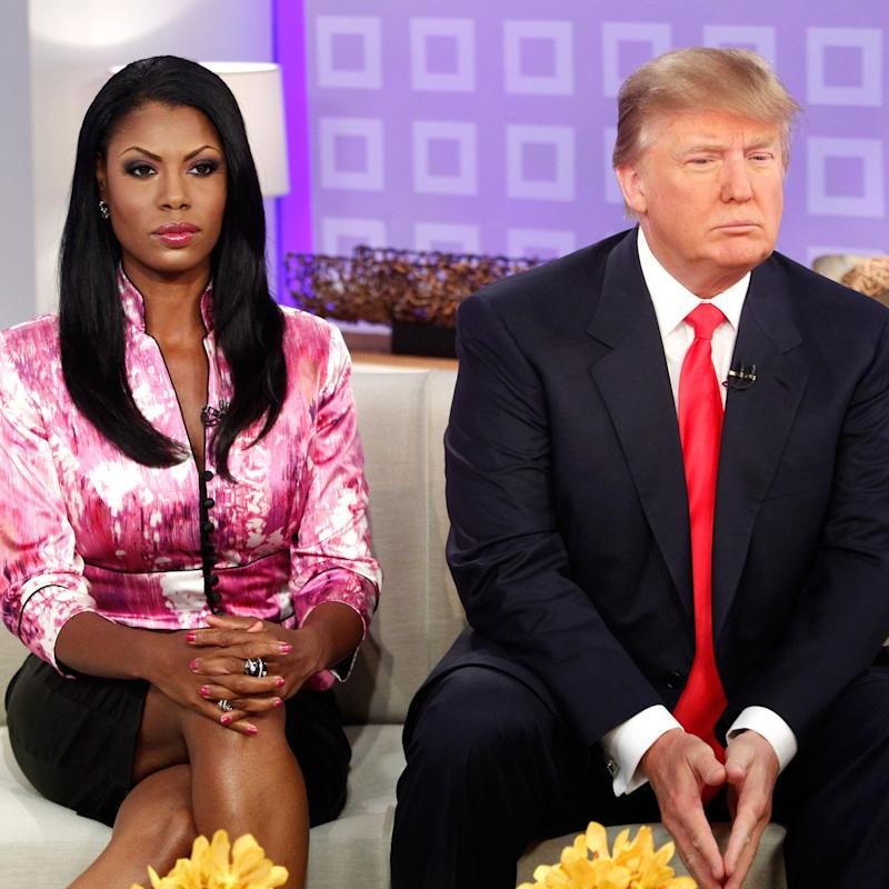 Omarosa: Trump looked at me 'inappropriately'