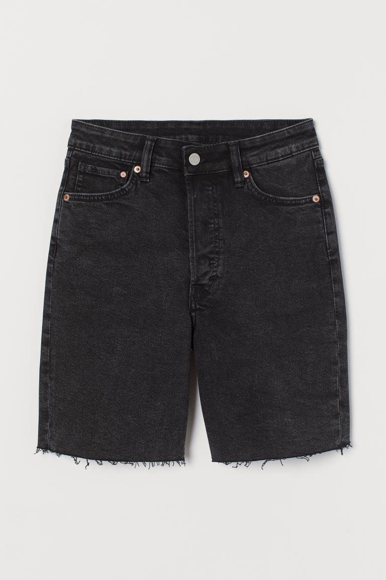 <p>These <span>Denim Bermuda Shorts</span> ($20) will look great with a square-neck top and some low-heeled sandals.</p>