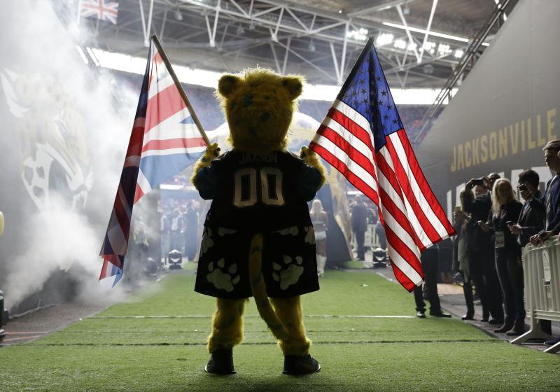 One of this season's London games will feature the Jaguars against the Ravens on Sept. 24. (AP)