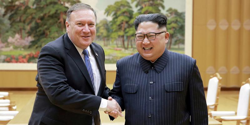 kim jong un mike pompeo north korea