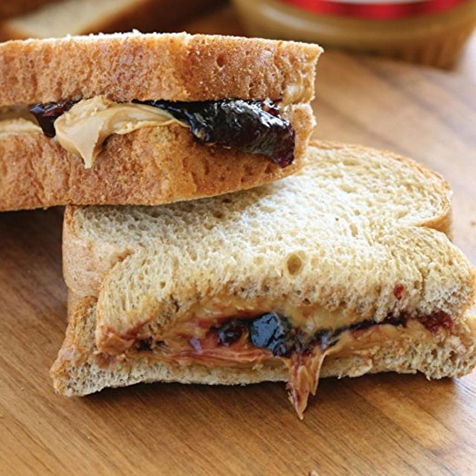 """<span>Many of us used to leave the crusts behind on our peanut butter and jelly sandwiches. When we were told to clean our plates, we likely assumed it was because our parents didn't want us to waste food. </span><span>But it turns out, <a href=""""https://www.sciencedaily.com/releases/2002/11/021105080817.htm"""" rel=""""nofollow noopener"""" target=""""_blank"""" data-ylk=""""slk:crusts are also the most nutritious part of the bread"""" class=""""link rapid-noclick-resp"""">crusts are also the most nutritious part of the bread</a>. </span><span>A 2002 German study found that </span><span>bread crust</span><span> has powerful antioxidants, containing as much as eight times more antioxidants than the bread itself.</span>"""