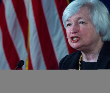Federal Reserve Board Chairman Janet Yellen speaks to the media during her monthly news conference at the Federal Reserve on September 17, 2014 in Washington (AFP Photo/Paul J. Richards)