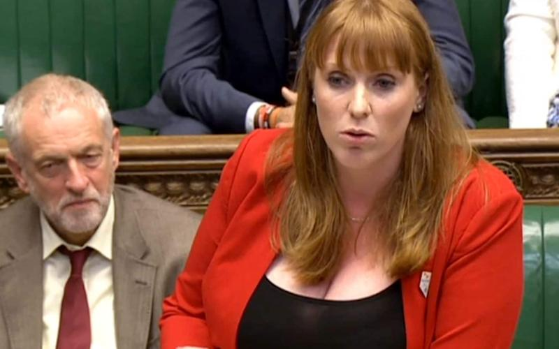 Shadow education secretary Angela Rayner  - Credit: PA