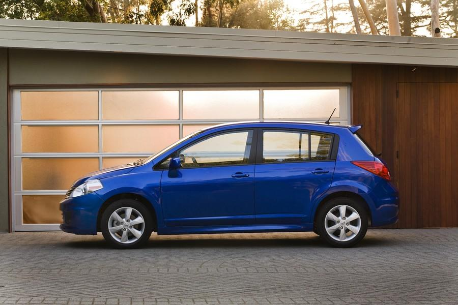 While the sedan version of the subcompact Versa was recently redesigned, the stubby tall-roofed hatchback version won't get a makeover until next year, and so it trundles on in its current rental-car-quality rendition. It received the triple crown of below-average marks for initial quality, design/performance and reliability from J.D. Power, was cited for having among the highest injury-claim frequencies from the Highway Loss Data Institute (HLDI) and received only three out of five stars in frontal-crash and two stars in side-impact crash protection from the National Highway Traffic safety Administration (NHTSA).
