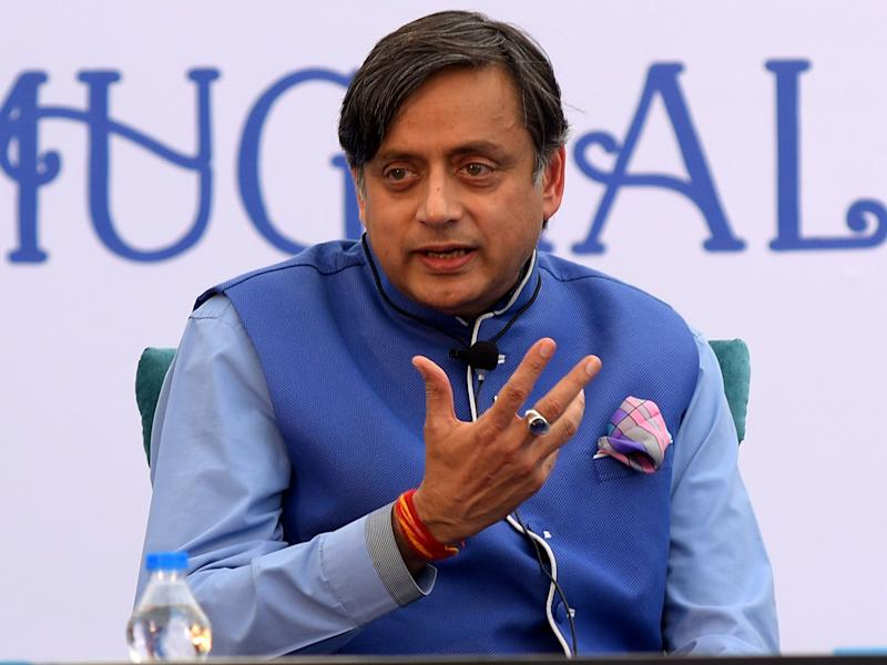 Indian politician and writer Shashi Tharoor reminded how Britain suppressed liberal Hindu texts during occupation: ROHIT JAIN PARAS/AFP/Getty Images