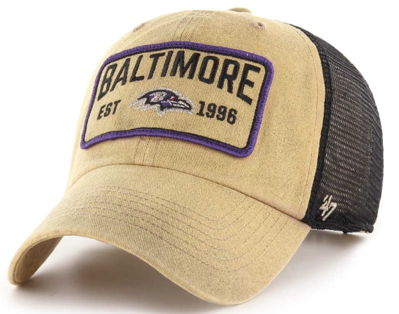 Ravens Gaudet '47 Clean Up Hat