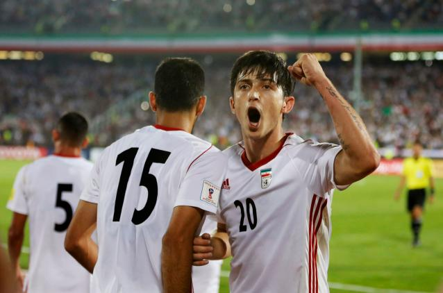 Sardar Azmoun will give Iran a dimension at the 2018 World Cup that it didn't have four years earlier. (Getty)