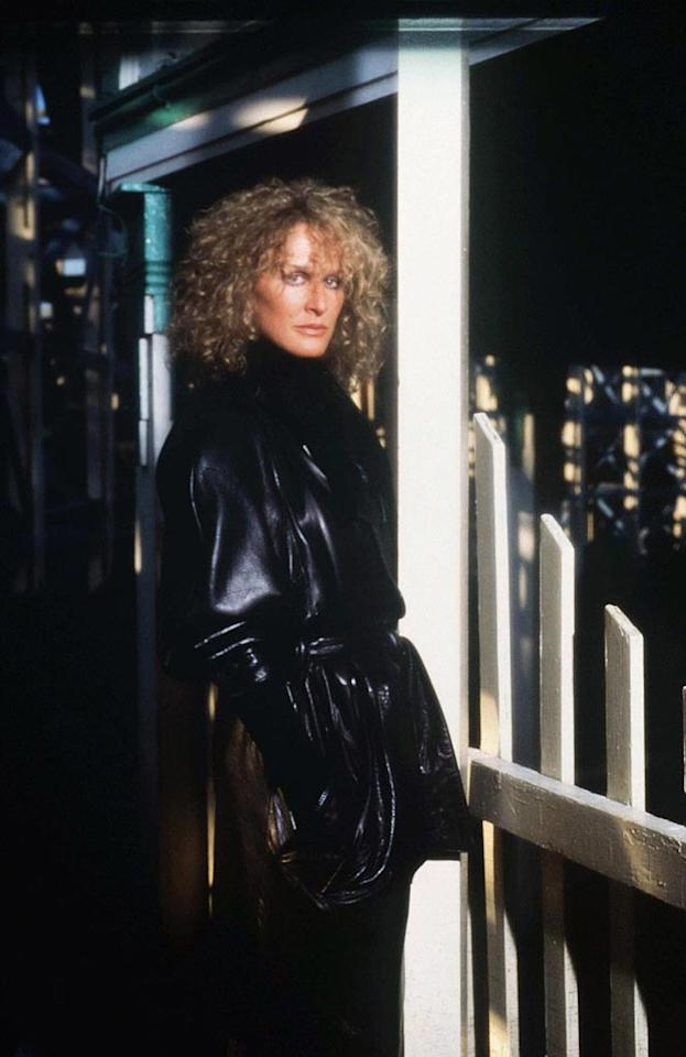 "<a href=""http://movies.yahoo.com/movie/contributor/1800019740"">Glenn Close</a>, ""<a href=""http://movies.yahoo.com/movie/1800064266/info"">Fatal Attraction</a>""<br><br>Long before <a href=""http://movies.yahoo.com/movie/contributor/1800012782"">Michael Douglas</a> succumbed to <a href=""http://movies.yahoo.com/movie/contributor/1800012230"">Sharon Stone</a> in <a href=""http://movies.yahoo.com/movie/1800173852/info"">Basic Instinct</a>, he drove Glenn Close crazy when he told his on-screen stalker that their affair was simply a one night stand. Little did he know that Alex Forrest's borderline personality disorder would unleash an unforeseen fury on him, his marriage, and his daughter's pet rabbit."
