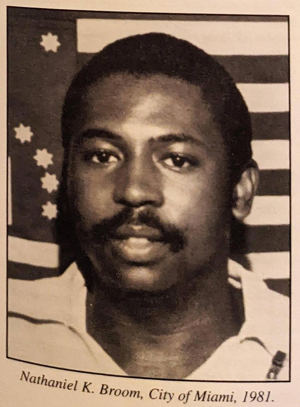 Miami, Florida, May 7 2021 - Nathaniel K Broom, killed in the line of duty in 1981. Somehow, the location of his remains became a mystery to Miami police. Now, 40 years later, a retired detective and her old boss believe Broom's grave has finally been found.