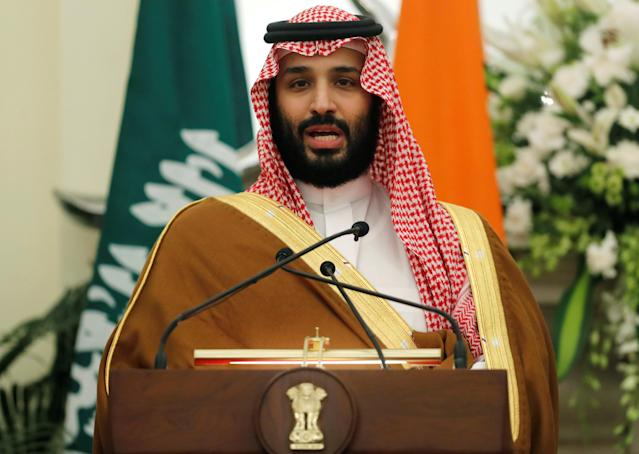Saudi Arabia's royal family, including Crown Prince Mohammed bin Salman, doesn't exactly have the reputation soccer clubs would want to associate with. But it does have billions of dollars. (Reuters)