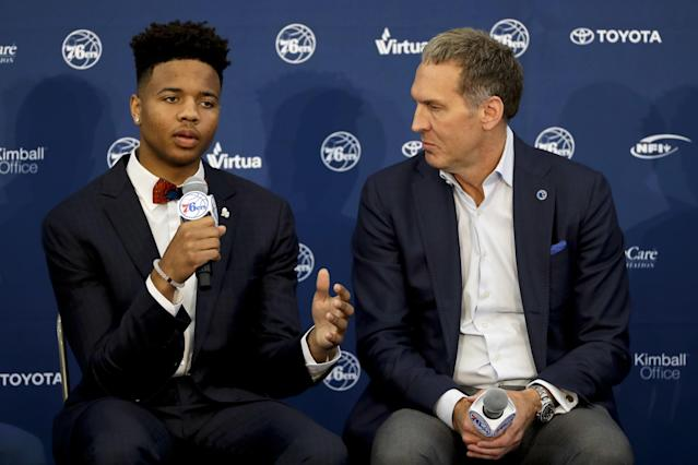 The 76ers are counting on Markelle Fultz to help make them a playoff team, but how long will that take? (AP)