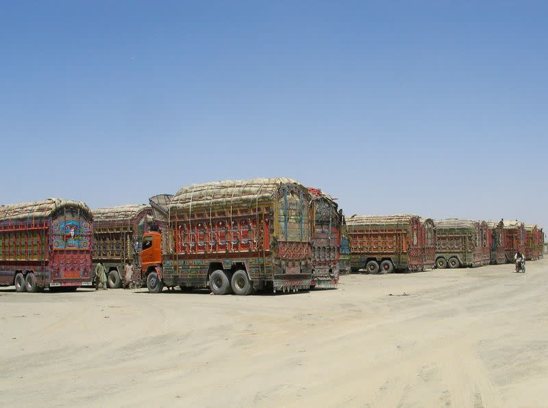 Friendship Gate crossing point at Pakistan-Afghanistan border town of Chaman