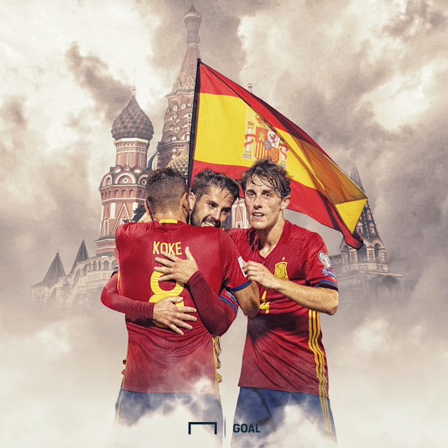 Spain World Cup GFX