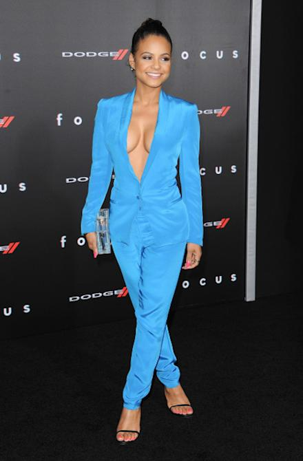 Los Angeles Premiere of 'Focus' at TCL Chinese Theatre Featuring: Christina Milian Where: Hollywood, California, United States When: 25 Feb 2015 Credit: Brian Dowling/WENN.com