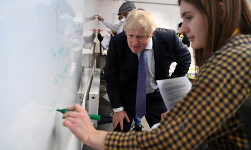 Boris Johnson hints at compromise over Huawei and 5G