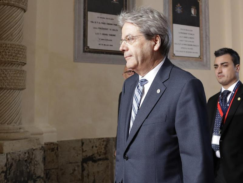 Readout of the President's Call with Prime Minister Paolo Gentiloni of Italy