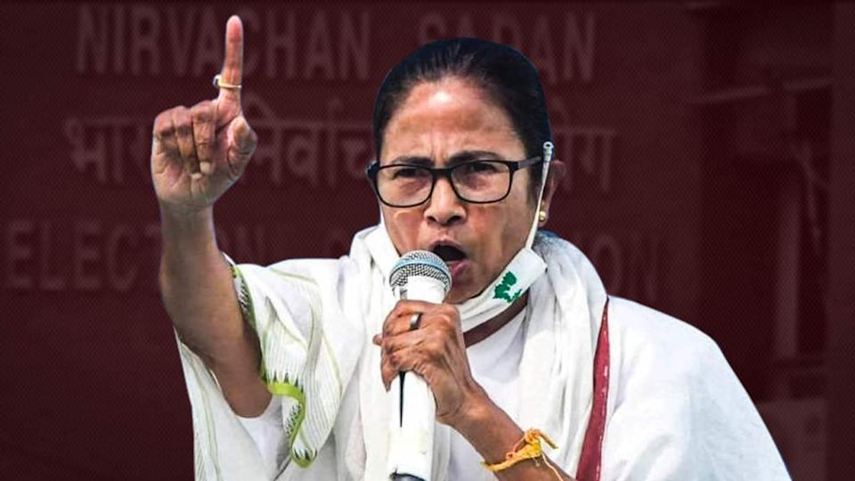 TMC ahead of BJP in West Bengal; Mamata Banerjee trailing