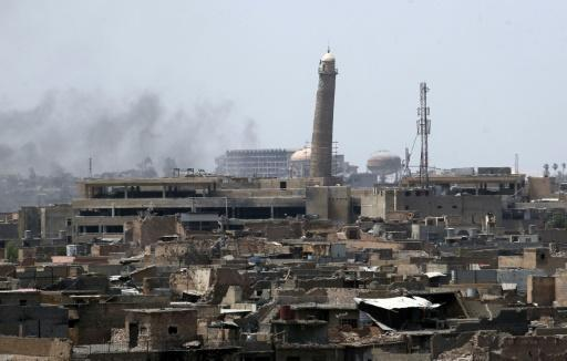 Mosul's Old City threatened as showdown looms