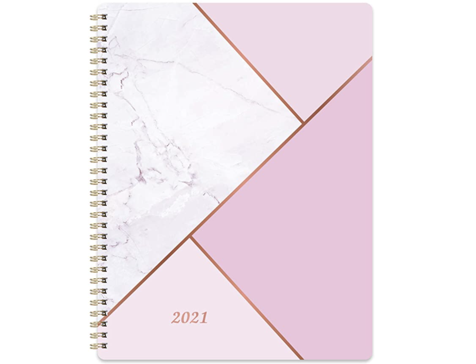 2021 Planner in Pink Marble. (PHOTO: Amazon Singapore)