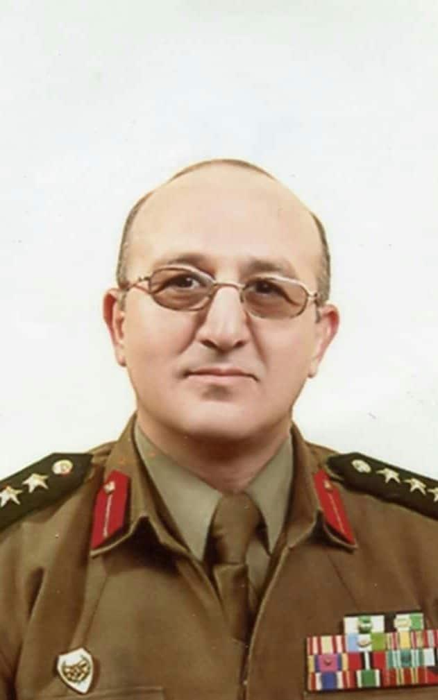 Brig Gen Zaher al-Sakat in military uniform - Credit: Zaher al-Sakat