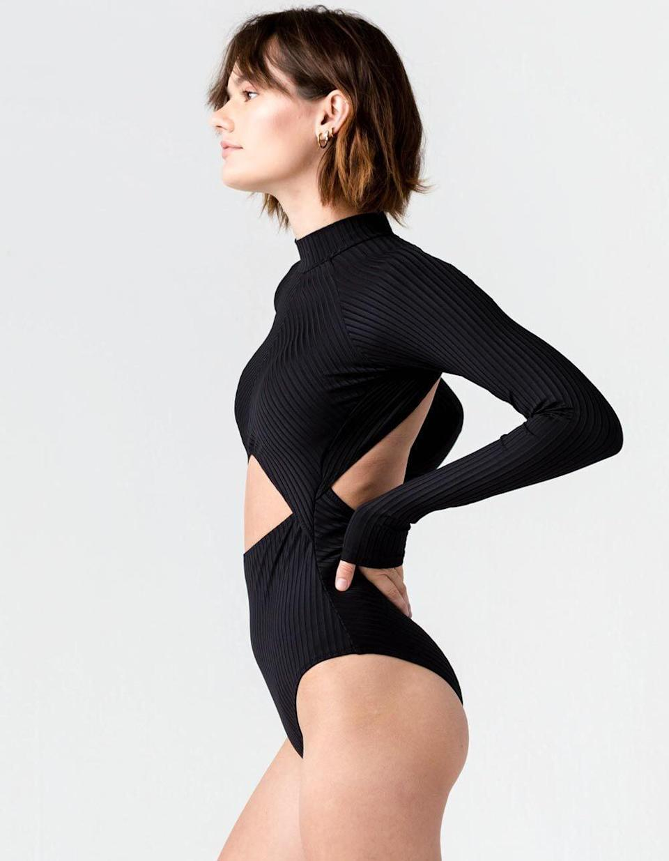 <p>The cutouts of this <span>Tilly's One-Piece Swimsuit</span> ($100) add visual interest, while the silhouette is modern and playful.</p>